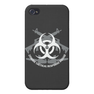 Zombie Tactical response squad iPhone 4 Covers