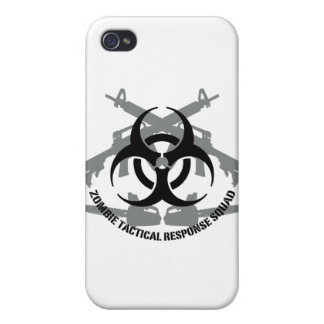 Zombie tactical response squad iPhone 4 case