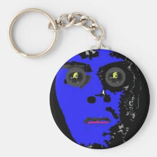 Zombie Talisman Basic Round Button Key Ring