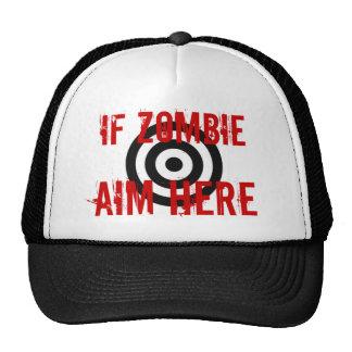 Zombie Target Cap