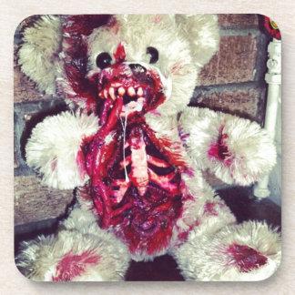 zombie teddy bear coaster
