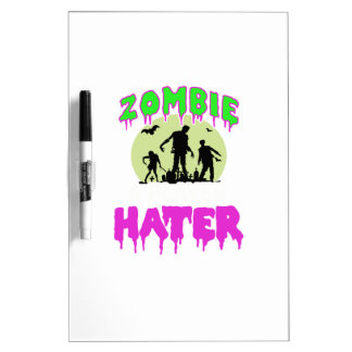 Zombie tee dry erase board