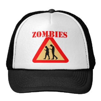Zombie Teens With Cell Phones Cap