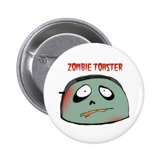 Zombie toaster pin