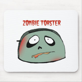 Zombie toaster mousepad