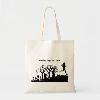 Zombie Tote Budget Tote Bag