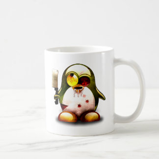Zombie Tux (Linux Tux) Coffee Mug