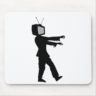 Zombie TV Mouse Pad
