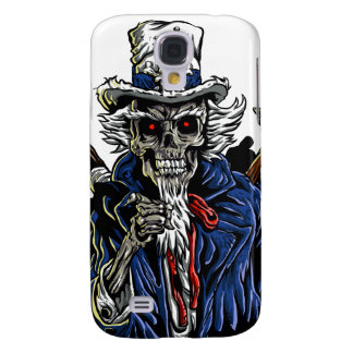 Zombie Uncle Sam Samsung Galaxy S4 Covers
