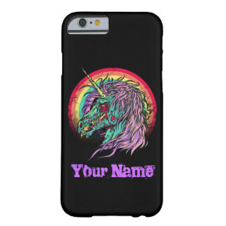 Zombie Unicorn Barely There iPhone 6 Case