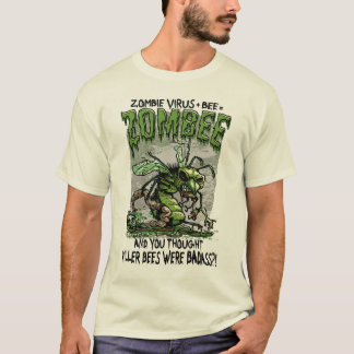 Zombie Virus add Bee equals Zombee T-Shirt
