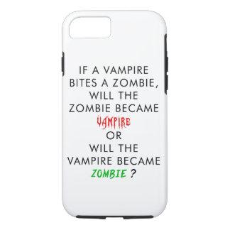 Zombie vs. Vampire iPhone 7 Case