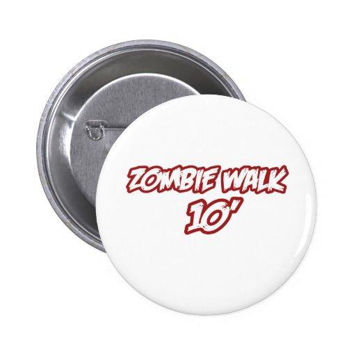 Zombie Walk 10' Pins