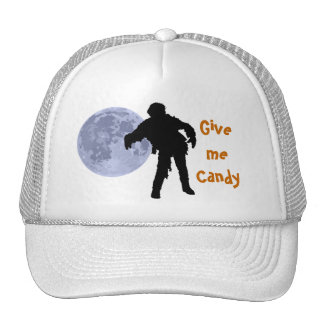 Zombie Walking in the Moonlight. Give me Candy Cap