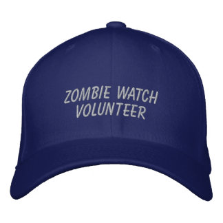 Zombie Watch Volunteer Embroidered Hat