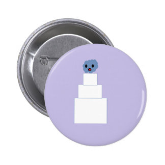 Zombie Wedding Cake Buttons