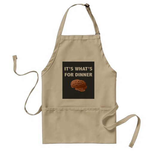 Zombie What's For Dinner Aprons