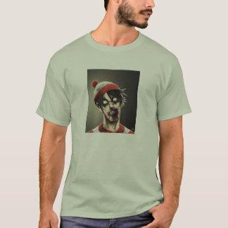 Zombie Where's Waldo T-Shirt