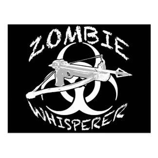 Zombie Whisperer 4w Postcard