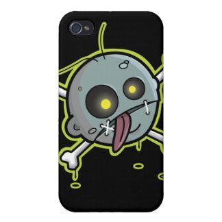 Zombie with Crossbones Speck iPhone 4 Case