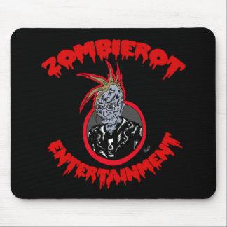 """Zombie Xtoph"" Zombierot Logo Mousepad"