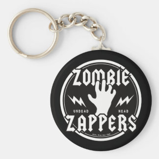 ZOMBIE ZAPPERS KEY RING