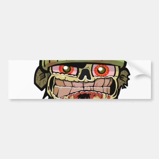 Zombie Zim Bumper Sticker