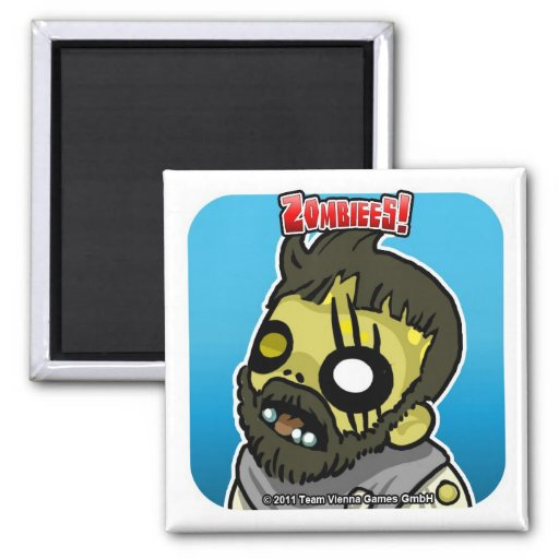Zombiees! Brewer Magnet