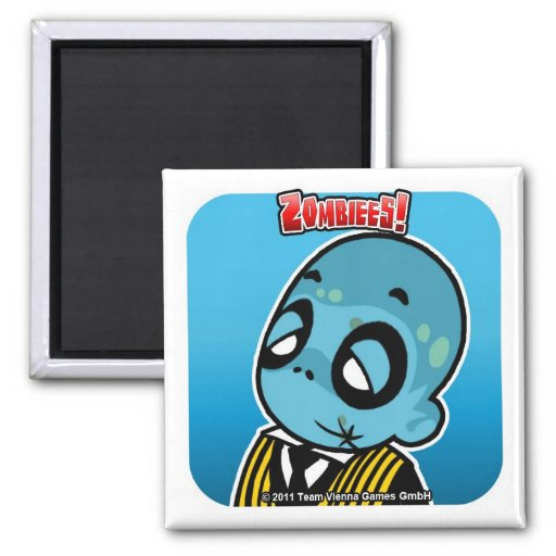 Zombiees! Butler Magnet