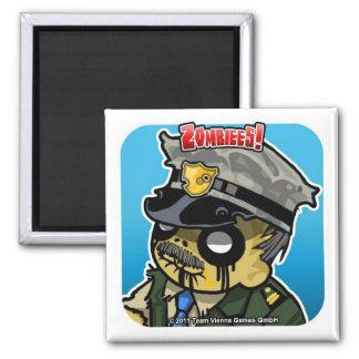 Zombiees Sheriff Truman Refrigerator Magnet
