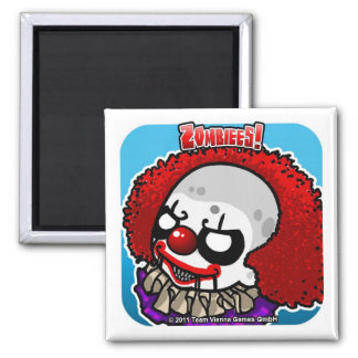 Zombiees! Zennywise Square Magnet
