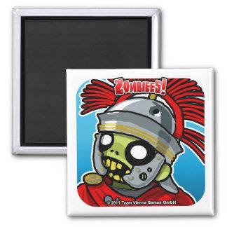 Zombiees! Zombus Atrocitas Square Magnet