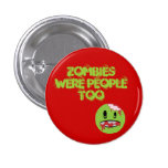 Zombies 3 Cm Round Badge