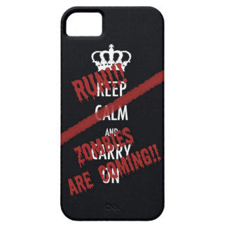 Zombies are coming iPhone 5 case