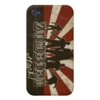 Zombies Attack iPhone 4/4S Case