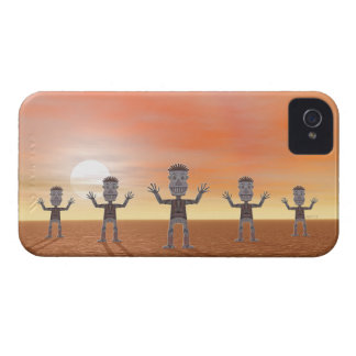Zombies iPhone 4 Cases