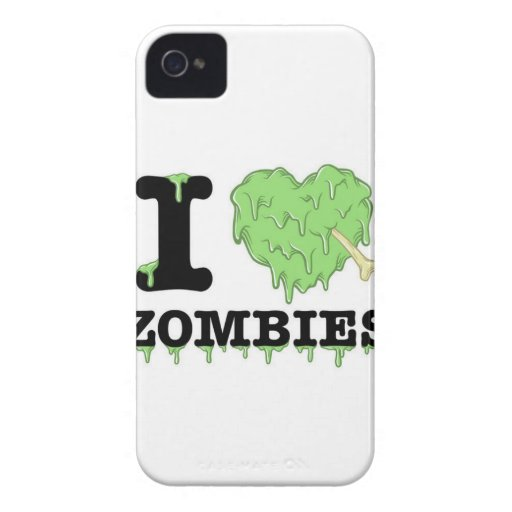 Zombies iPhone 4 Case-Mate Cases