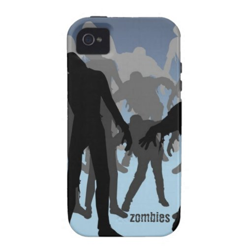 Zombies Doing What Zombies Do iPhone 4 Vibe Case Case-Mate iPhone 4 Cases
