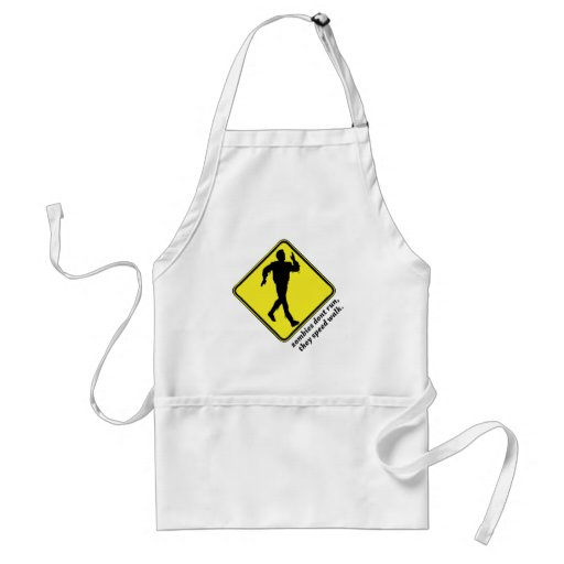 zombies dont run apron