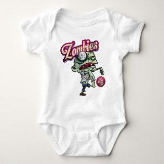 Zombies eat Brains Baby Bodysuit
