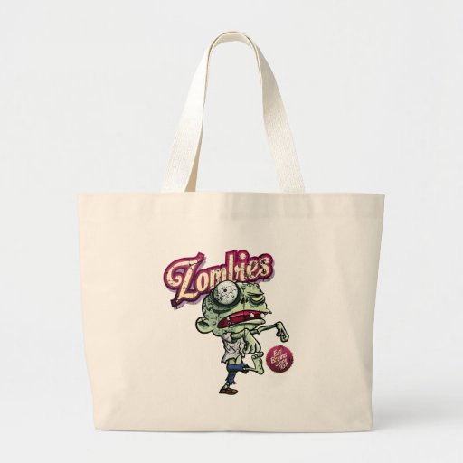 Zombies eat Brains Bags