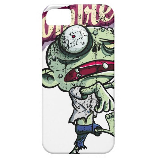 Zombies eat Brains iPhone 5 Case