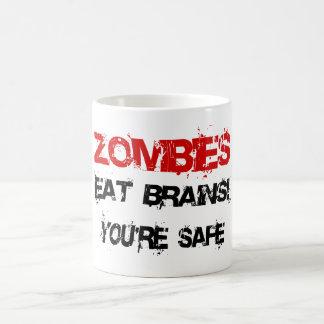 Zombies Eat Brains! Coffee Mug