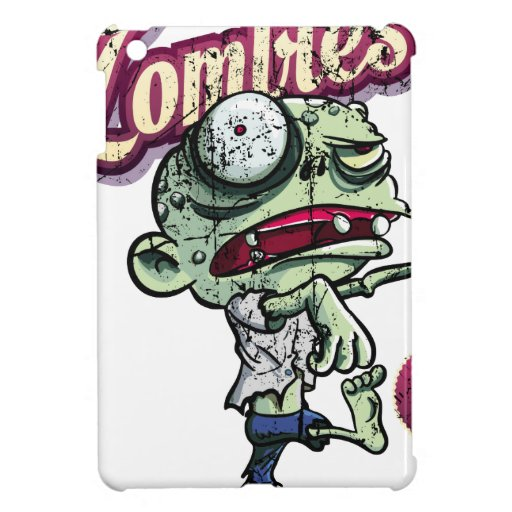 Zombies eat Brains Cover For The iPad Mini