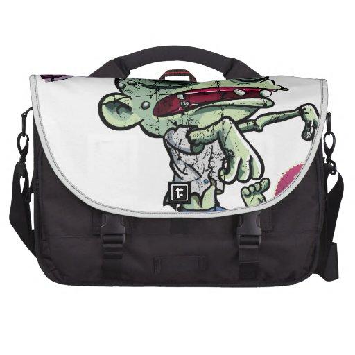 Zombies eat Brains Computer Bag