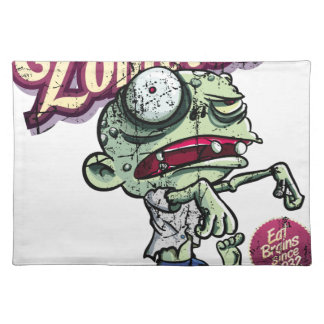Zombies eat Brains Placemat