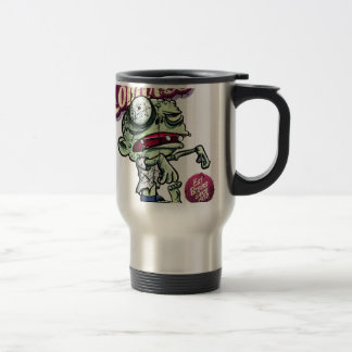 Zombies eat Brains Stainless Steel Travel Mug
