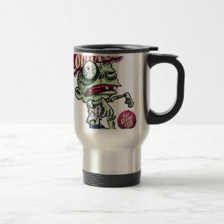 Zombies eat Brains Travel Mug