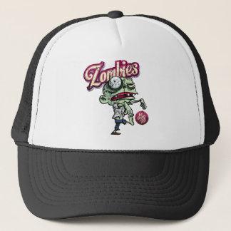 Zombies eat Brains Trucker Hat