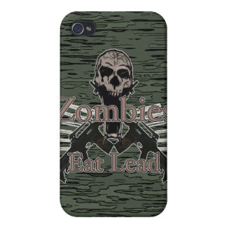 Zombies Eat Lead iPhone 4/4S Cases